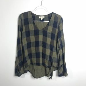 Cloth & Stone Plaid Shirt